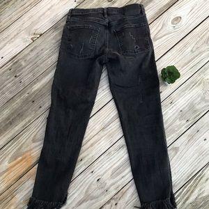 Zara Women distresses Jeans